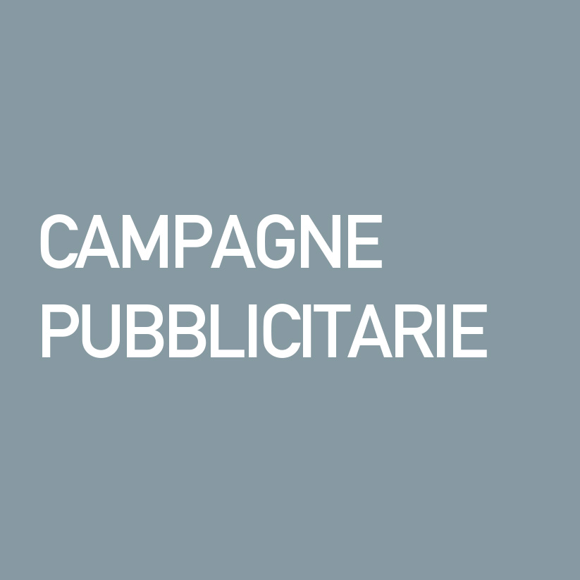 Ideative Studio comunicazione: Campagne pubblicitarie