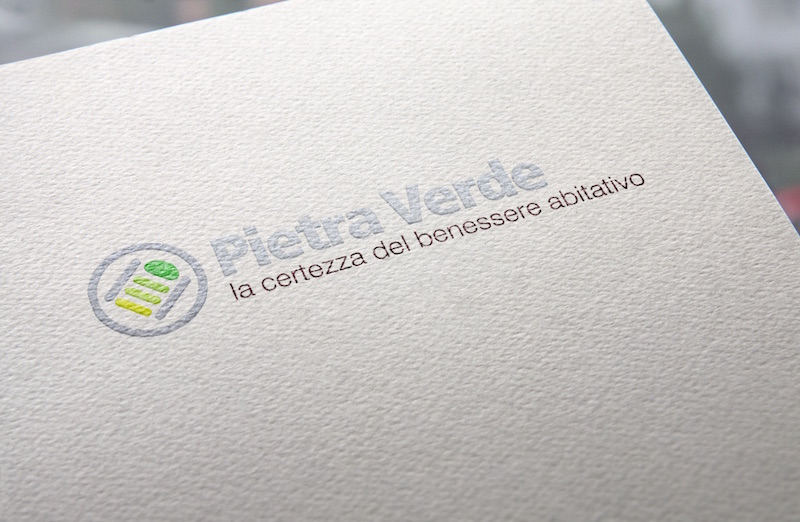 Portfolio clienti Ideative Studio: logo design Pietra Verde